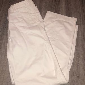 Haggar relaxed fit off white pants